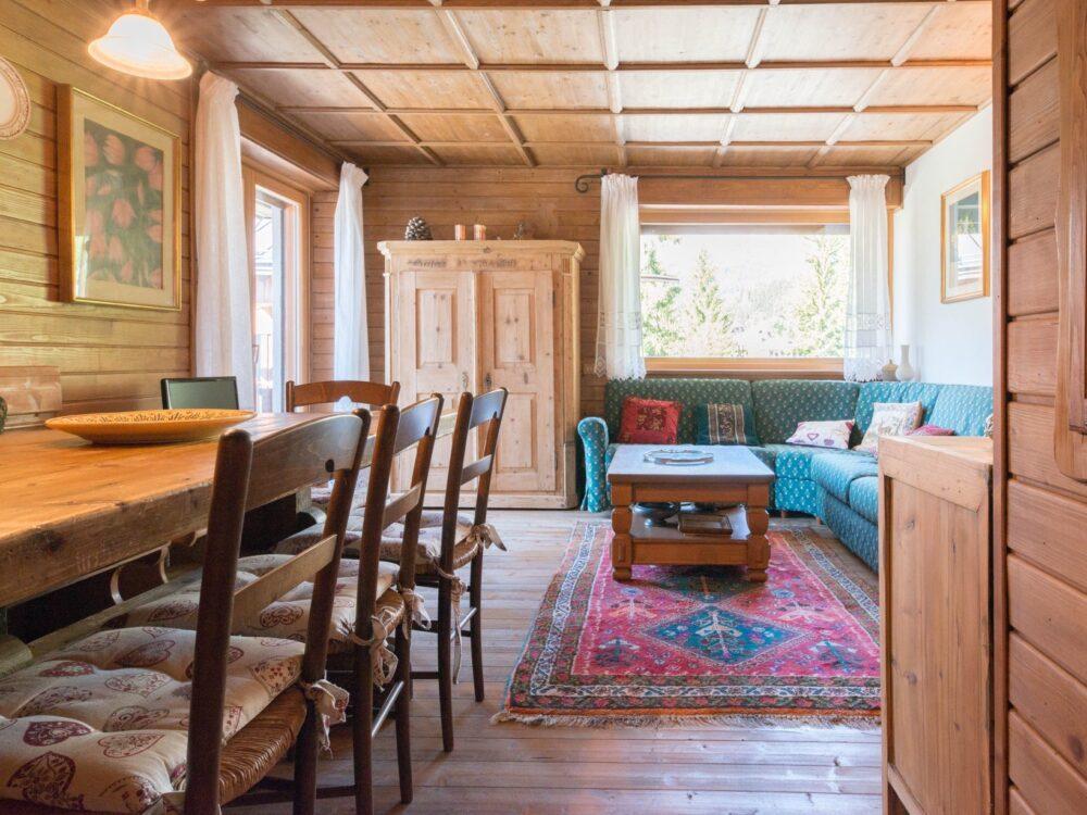 Cortina d'Ampezzo Foto Appartamento con taverna a Cortina d'Ampezzo