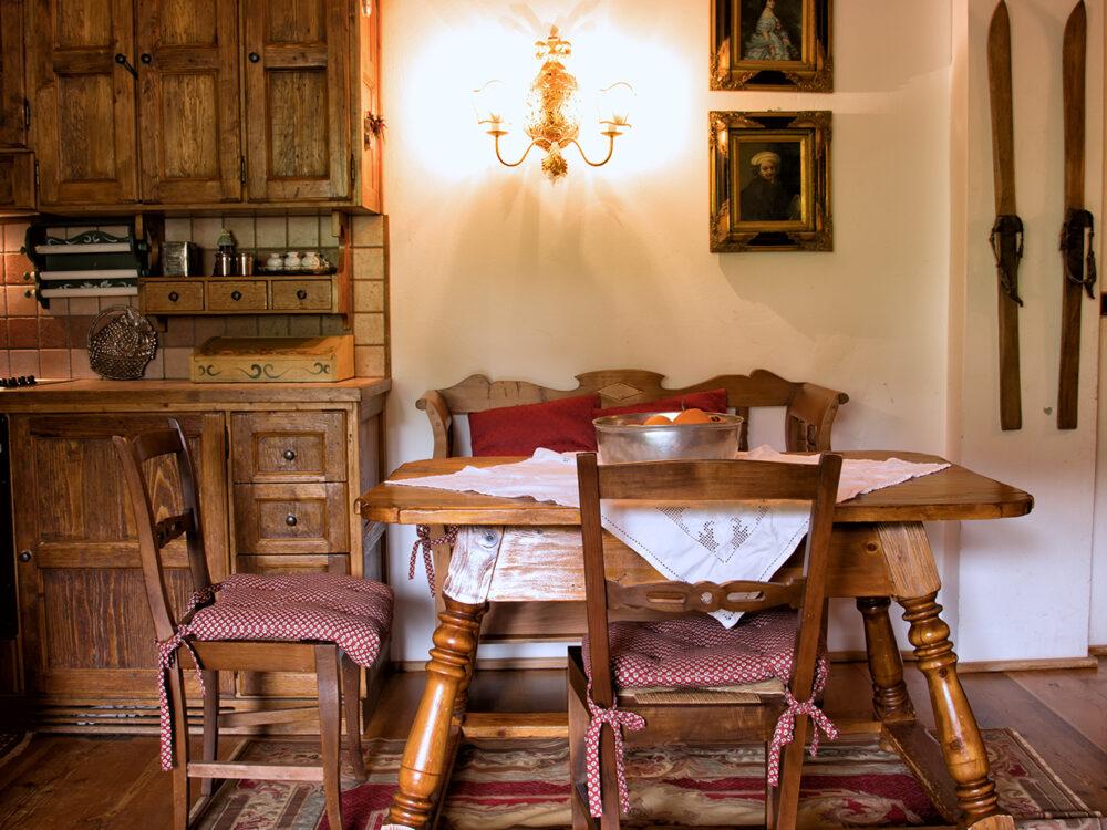 Foto 6 Primo piano di pregio in località Crignes a Cortina d'Ampezzo