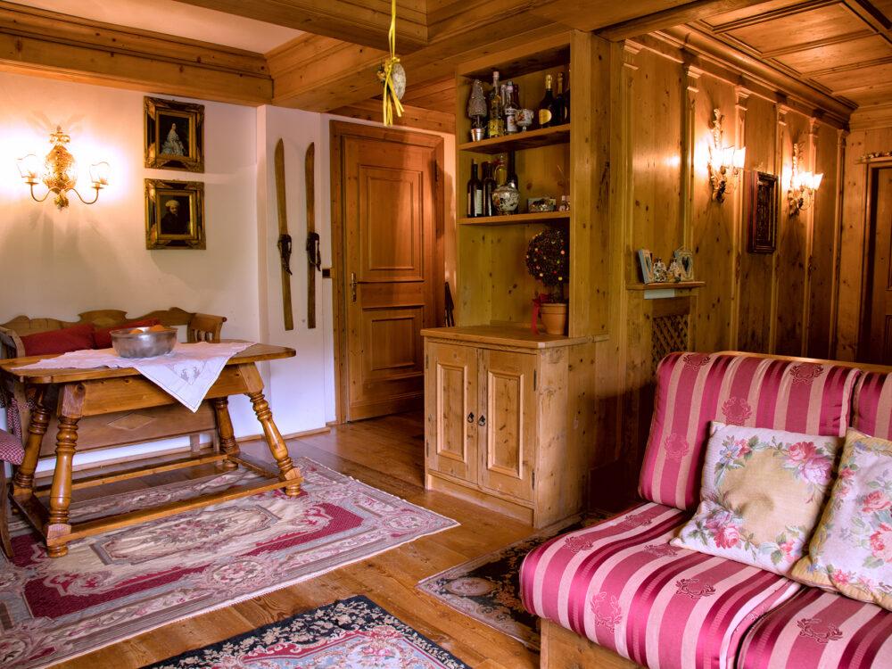 Foto 3 Primo piano di pregio in località Crignes a Cortina d'Ampezzo