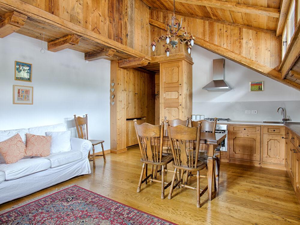 Cortina d'Ampezzo - Cortina Foto Mansarda in Corso Italia a Cortina d'Ampezzo