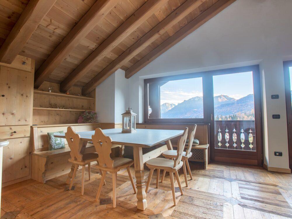 San Vito di Cadore Foto Elegante attico panoramico a San Vito di Cadore