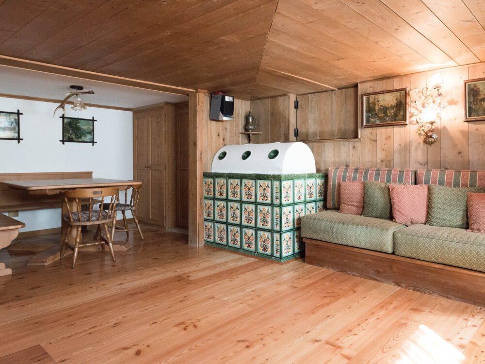 Foto 12 Appartamento con taverna a Cortina d'Ampezzo