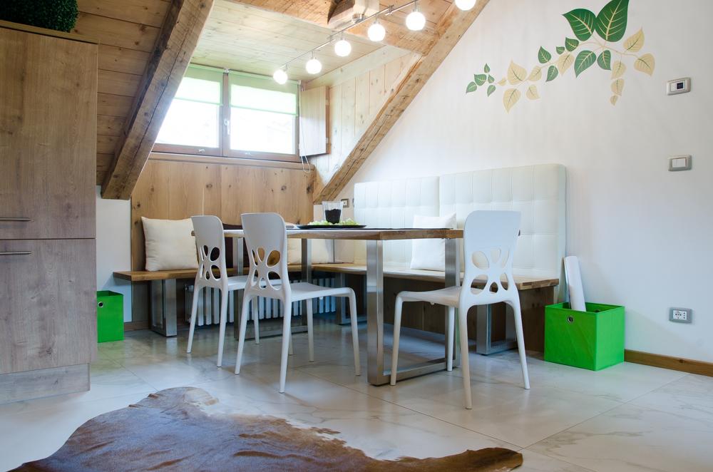 Cortina d'Ampezzo - Lacedel Foto Mansarda due camere in località Meleres