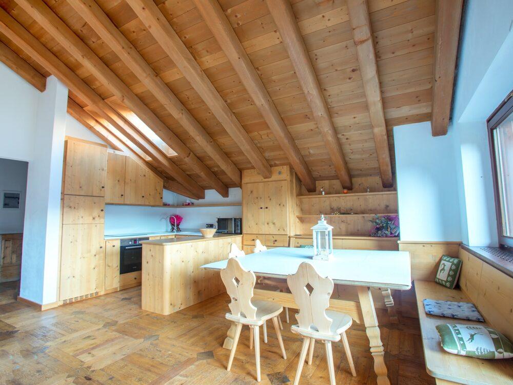 Foto 2 Elegante attico panoramico a San Vito di Cadore