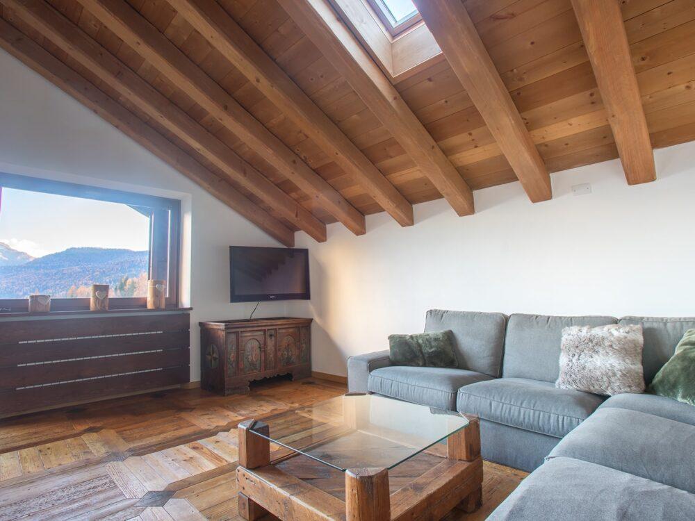 Foto 5 Elegante attico panoramico a San Vito di Cadore